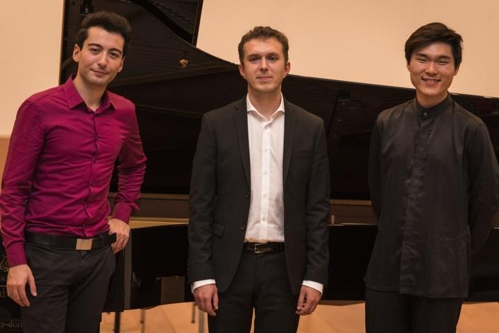 1 - 3 Preisträger Schubertkonzert